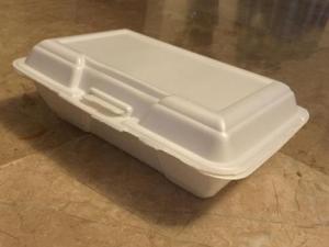 ظروف یکبار مصرف فوم تک پرسی