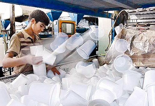 صادرات محصولات یکبار مصرف به عراق
